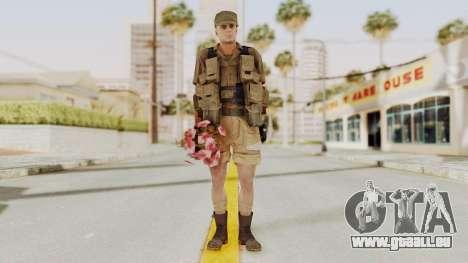 MGSV Phantom Pain CFA Combat Vest 2 v2 pour GTA San Andreas deuxième écran