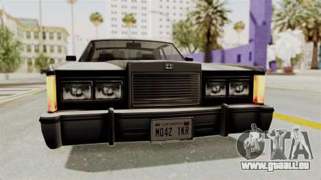 GTA 5 Dundreary Virgo SA Style für GTA San Andreas Seitenansicht