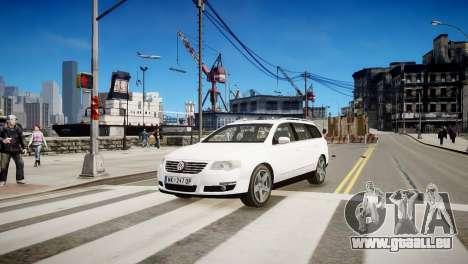 Volkswagen Passat Variant 2010 V1 pour GTA 4 est une gauche