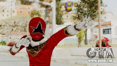 Power Ranger Zeo - Red pour GTA San Andreas