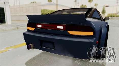 Nissan Silvia Sil80 pour GTA San Andreas salon