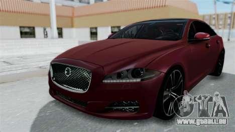 Jaguar XJ 2010 für GTA San Andreas