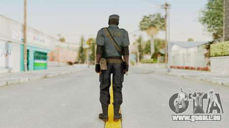 MGSV Phantom Pain Zero Risk Security LMG v1 pour GTA San Andreas troisième écran