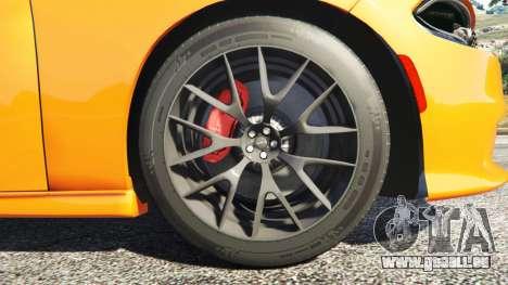GTA 5 Dodge Charger SRT Hellcat 2015 v1.2 Lenkrad