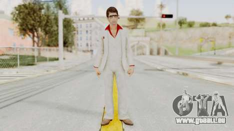 Scarface Tony Montana Suit v4 with Glasses pour GTA San Andreas deuxième écran