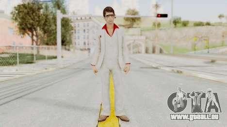 Scarface Tony Montana Suit v4 with Glasses für GTA San Andreas zweiten Screenshot