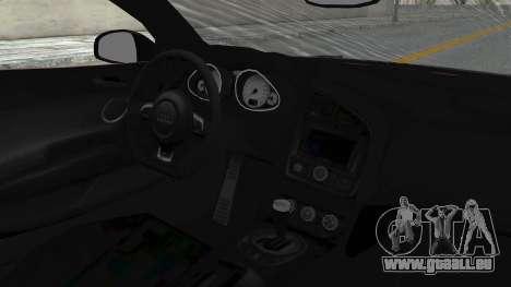 Audi R8 Spyder 2014 LB Work pour GTA San Andreas vue arrière