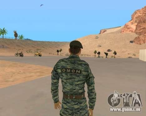 Pak Militaire Russe pour GTA San Andreas douzième écran