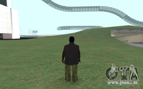 Nouveau Ballas 3 pour GTA San Andreas deuxième écran