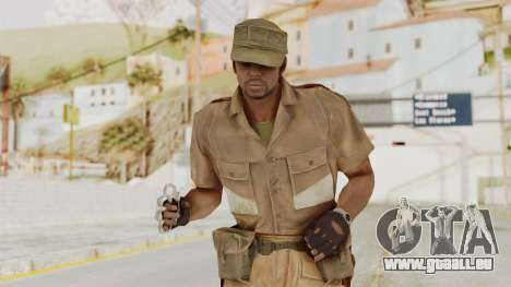 MGSV Phantom Pain CFA Soldier v1 pour GTA San Andreas