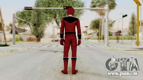 Power Rangers Time Force - Quantium für GTA San Andreas dritten Screenshot