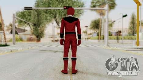 Power Rangers Time Force - Quantium pour GTA San Andreas troisième écran