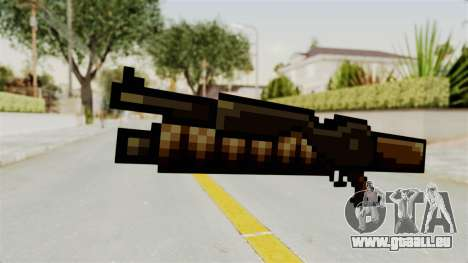 Heavy Machinegun from Metal Slug pour GTA San Andreas