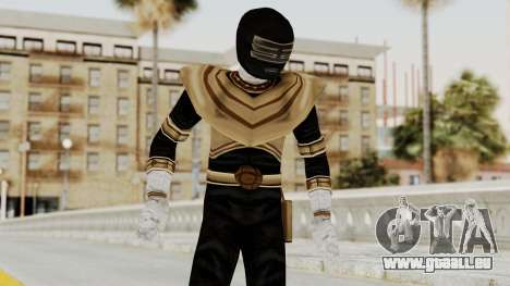 Power Ranger Zeo - Gold pour GTA San Andreas