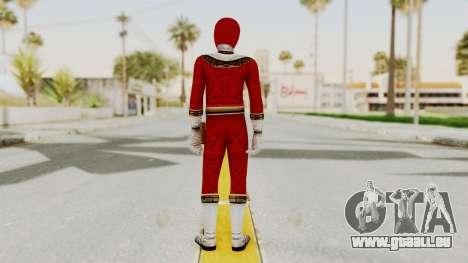 Power Ranger Zeo - Red pour GTA San Andreas troisième écran
