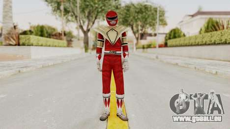 Mighty Morphin Power Rangers - Red Armor für GTA San Andreas zweiten Screenshot