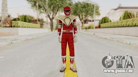 Mighty Morphin Power Rangers - Red Armor pour GTA San Andreas deuxième écran