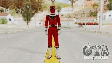 Power Ranger Zeo - Red pour GTA San Andreas deuxième écran