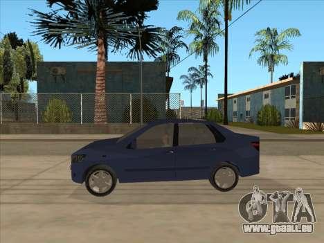 Datsun on-DO für GTA San Andreas zurück linke Ansicht