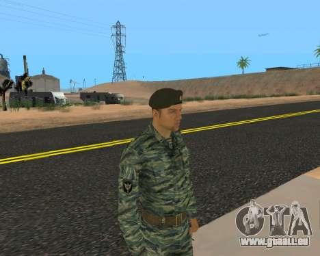 Pak Militaire Russe pour GTA San Andreas dixième écran