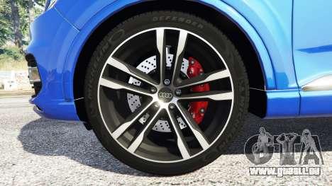 GTA 5 Audi Q7 2015 [rims2] volant