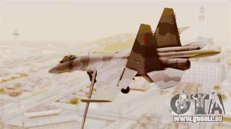 SU-27 Hydra pour GTA San Andreas laissé vue