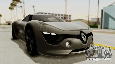 Renault Dezir Concept für GTA San Andreas zurück linke Ansicht