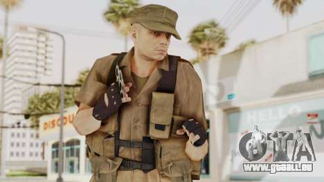 MGSV Phantom Pain CFA Combat Vest 2 v2 für GTA San Andreas