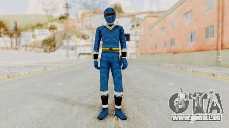 Alien Rangers - Blue für GTA San Andreas zweiten Screenshot