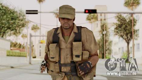 MGSV Phantom Pain CFA Combat Vest 2 v1 pour GTA San Andreas