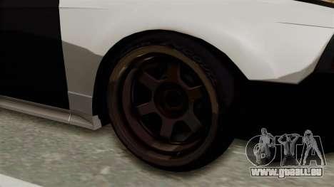 Ford Mustang 1999 Drift pour GTA San Andreas vue arrière
