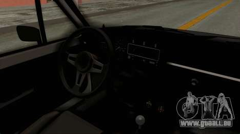 Volkswagen Golf 1 pour GTA San Andreas vue intérieure