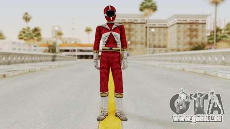 Power Rangers Lightspeed Rescue - Red für GTA San Andreas zweiten Screenshot