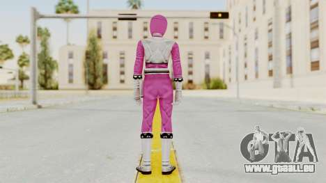 Power Rangers Lost Galaxy - Pink für GTA San Andreas dritten Screenshot