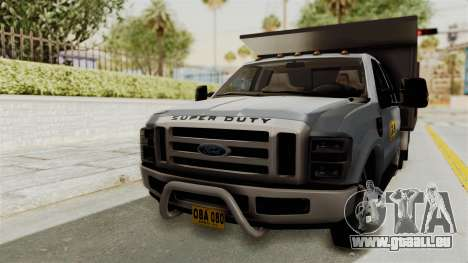 Ford F-350 Super Duty Volqueta pour GTA San Andreas
