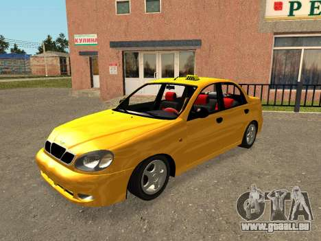 Daewoo Lanos (Sens) 2004 v2.0 by Greedy pour GTA San Andreas moteur