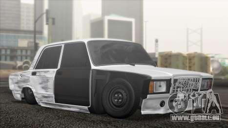 VAZ 2107 Hobo für GTA San Andreas