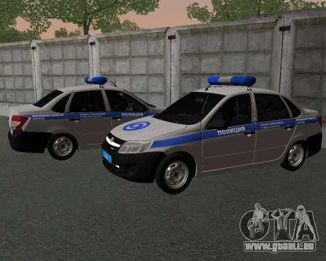 Lada Granta de la sécurité Privée pour GTA San Andreas