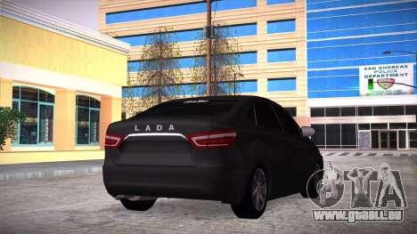 Lada Vesta Stoke pour GTA San Andreas laissé vue