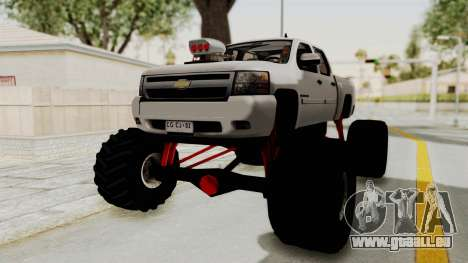 Chevrolet Silverado 2011 Monster Truck pour GTA San Andreas