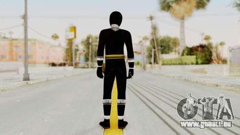 Alien Rangers - Black pour GTA San Andreas troisième écran