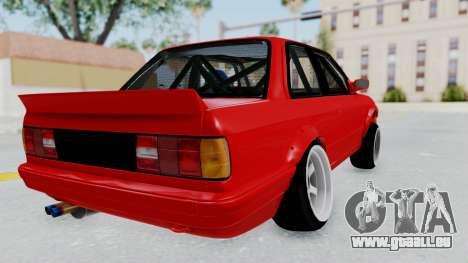 BMW M3 E30 Rocket Bunny Drift Style pour GTA San Andreas vue de droite
