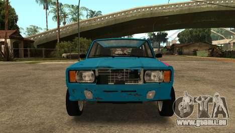 VAZ 2104 für GTA San Andreas linke Ansicht