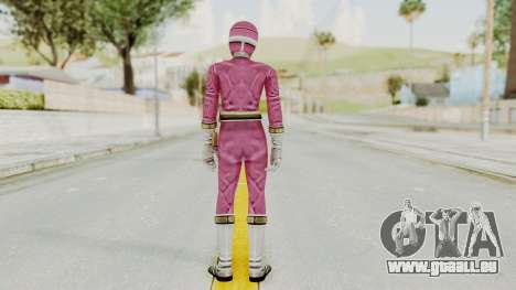 Power Rangers Lightspeed Rescue - Pink für GTA San Andreas dritten Screenshot