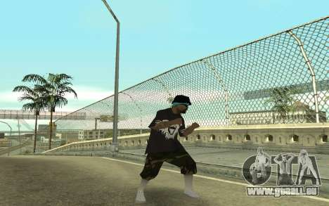 Varios Los Aztecas Gang Member pour GTA San Andreas troisième écran