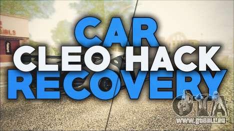 CarRecovery für GTA San Andreas