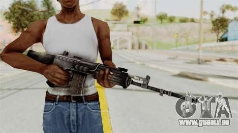 IOFB INSAS Detailed Black Skin für GTA San Andreas dritten Screenshot