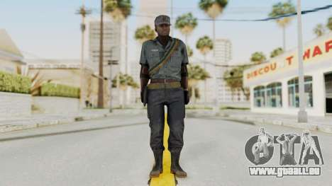 MGSV Phantom Pain Zero Risk Security LMG v1 für GTA San Andreas zweiten Screenshot