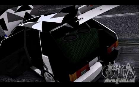 VAZ 2114 Triangle für GTA San Andreas Seitenansicht