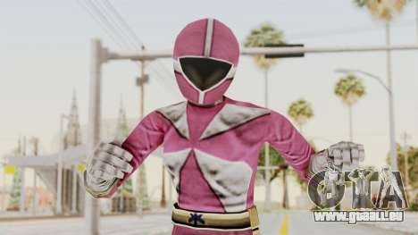 Power Rangers Lightspeed Rescue - Pink pour GTA San Andreas
